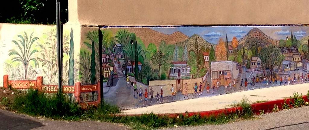 Bisbee 1000 mural