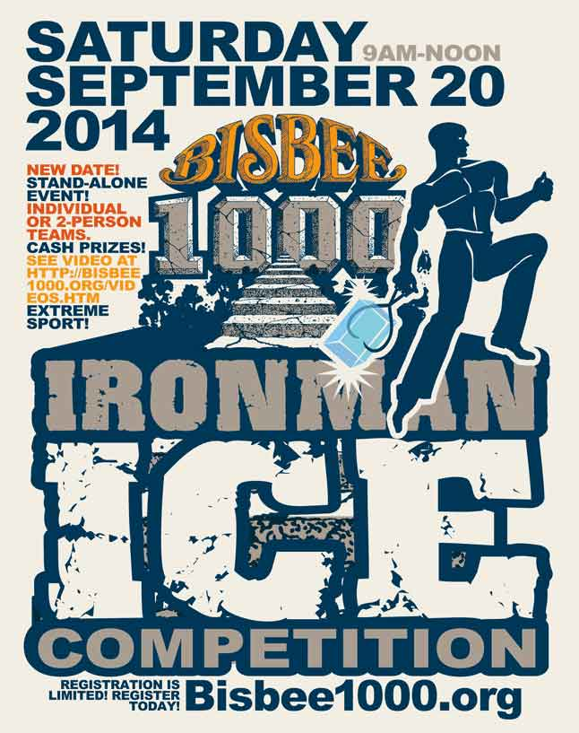 Ice event poster