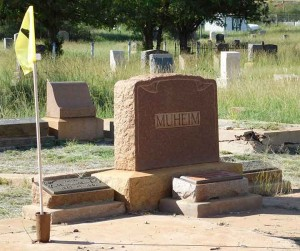 Muheim plot at Evergreen Cemetery