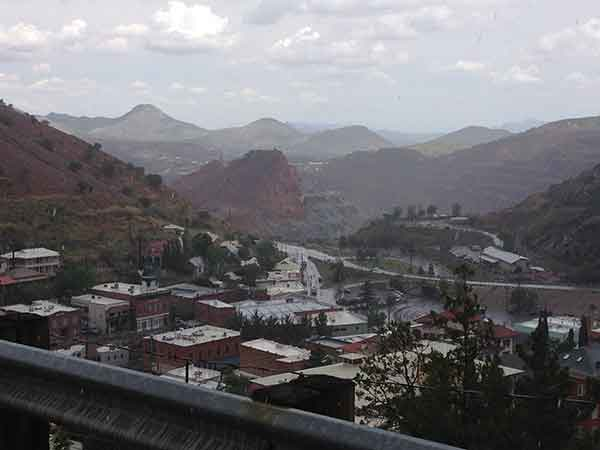 bisbee in the cool summer rain